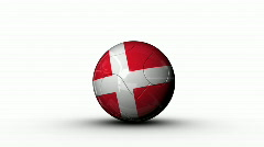 world cup DENMARK - stock footage