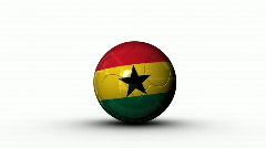 World cup GHANA Stock Footage