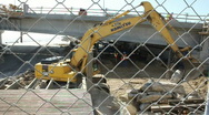 Stock Video Footage of Heavy Equipment Excavator