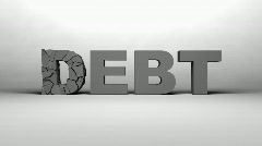 Exploding Debt HD1080 Stock Footage