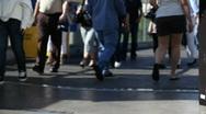 Las Vegas Tourists 1585 Stock Footage