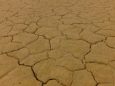 Stock Video Footage of Death Valley HSC 09 Racetrack Playa Pan