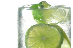 Sprite with lime rotate V2 - NTSC - stock footage