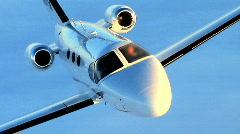 Luxury Corporate Jet - stock footage