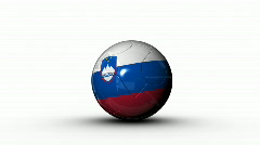 world cup SLOVENIA - stock footage