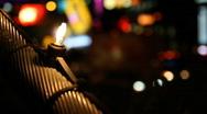 Night Las Vegas Traffic 1594 Stock Footage