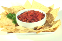 Chips and salsa loop V3 - NTSC Stock Footage