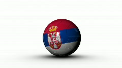 world cup SERBIA - stock footage