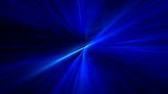 Blue Light Rays - stock footage