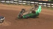 Autocross crash Stock Footage