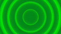 Stock Video Footage of Green radio waves