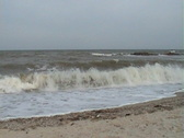 Sea waves and beach Stock Footage