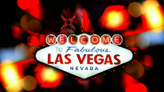 Welcome to Fabulous Las Vegas 1604 Stock Footage