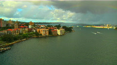 North Sydney View 02 Stock Footage