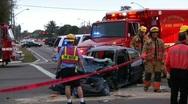 Auto Accident #5 Stock Footage