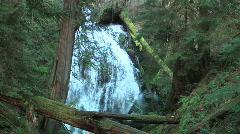 Establishing Shot Waterfall Stock Footage