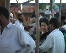A Fruit Market in Karachi, Pakistan Stock Footage