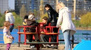 Stock Video Footage of Childrens playground