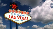 Welcome to Fabulous Las Vegas 1606 Stock Footage