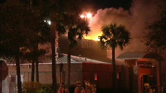 Restaurant Fire 12 Stock Footage