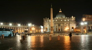Stock Video Footage of Saint Peter Basilica, Rome