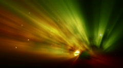 Spectacular Aurora Background HD Stock Footage