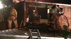 Restaurant Fire 3 Stock Footage