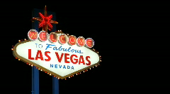 Stock Video Footage of Welcome to Fabulous Las Vegas 1607