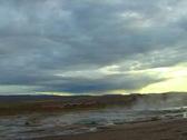 Stock Video Footage of Geyser Eruption 2
