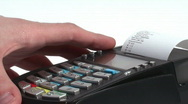 Stock Video Footage of HD 1080 - Credit Card Terminal scene 06