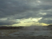 Stock Video Footage of Geyser Eruption