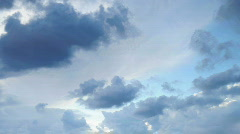 Clouds timlapse 3 Stock Footage