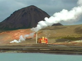 Stock Video Footage of Geothermal Power Plant