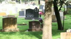 Graveyard2 - stock footage