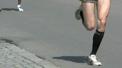 Marathon race Stock Footage