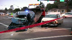 Auto Accident #7 - stock footage