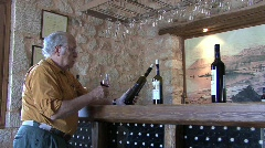 Lefkada winery Stock Footage