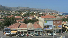 Chios Pans town Stock Footage