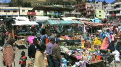 Ecuador country market Stock Footage