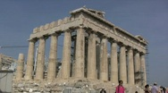 Stock Video Footage of Athens Parthenon on the Acropolis
