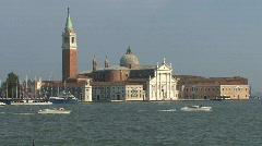Venice church of San Giorgio Maggiore  Stock Footage
