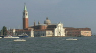 Stock Video Footage of Venice church of San Giorgio Maggiore