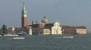Stock Video Footage of Venice church of San Giorgio Maggiore