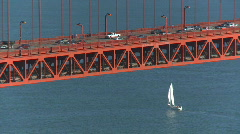 Golden Gate Bridge 14 HD Stock Footage