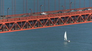 Stock Video Footage of Golden Gate Bridge 14 HD