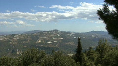 Mountains on the Peloponnesus  Stock Footage