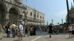 Venice Doges palace Stock Footage