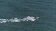 Power boat 02 HD Stock Footage