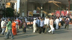 Egypt People in Cairo Market - stock footage