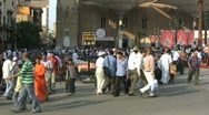 Egypt People in Cairo Market Stock Footage